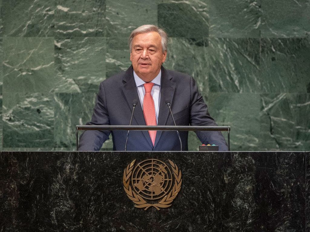 UNGA76 - 'The world must wake up': UN chief's message to world leaders